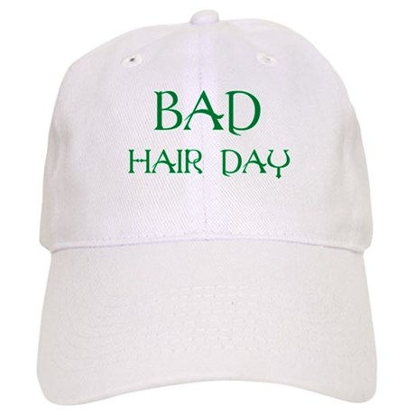 green print bad hair day cap by lukeardfarb
