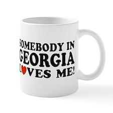 Somebody In Georgia Loves Me Mug