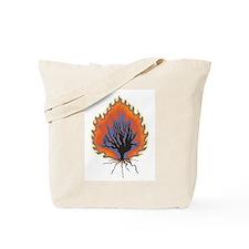 The Burning Bush Tote Bag