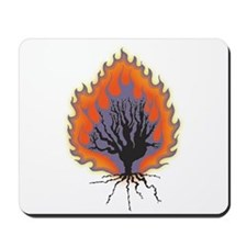 The Burning Bush Mousepad
