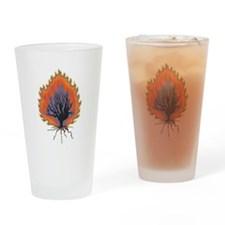 The Burning Bush Drinking Glass