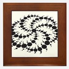Crop Circles Consciousness Framed Tile