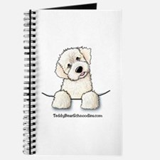 White Schnoodle Pocket Journal