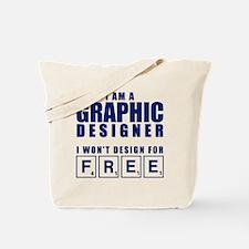 NO FREE DESIGNS Tote Bag