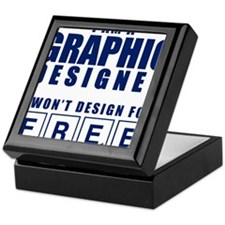 NO FREE DESIGNS Keepsake Box