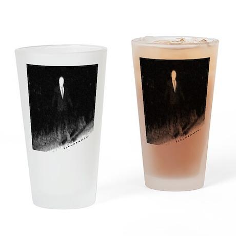 Slenderman Drinking Glass
