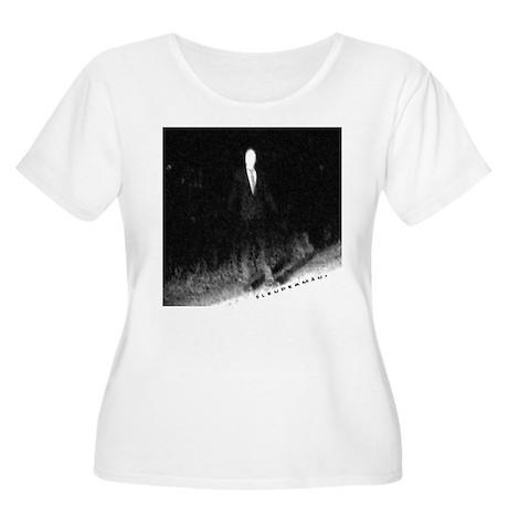 Slenderman Women's Plus Size Scoop Neck T-Shirt