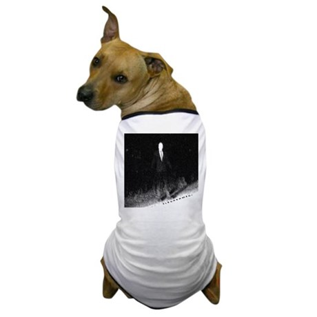 Slenderman Dog T-Shirt