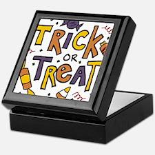 Trick Or Treat Keepsake Box
