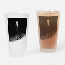 Slenderman Drinking Glass