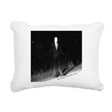 Slenderman Rectangular Canvas Pillow