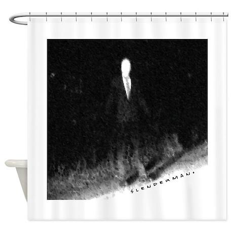 Slenderman Shower Curtain