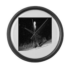 Slenderman Large Wall Clock