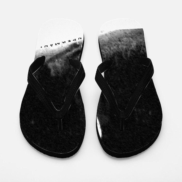 Slenderman Flip Flops