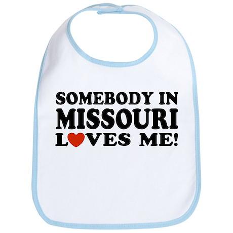 Somebody In Missouri Loves Me Bib