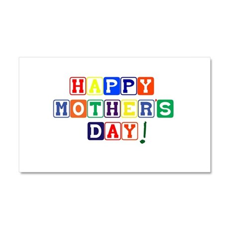 Happy Mothers Day.psd Car Magnet 20 x 12