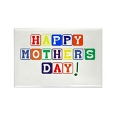 Happy Mothers Day.psd Rectangle Magnet