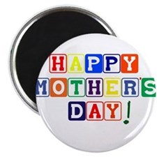 "Happy Mothers Day.psd 2.25"" Magnet (10 pack)"