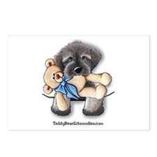 Pocket Wookie Schnoodle w/Bear Postcards (Package