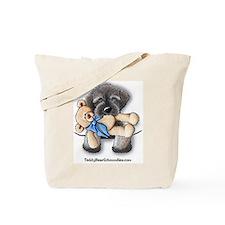 Pocket Wookie Schnoodle w/Bear Tote Bag