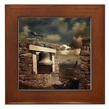 For Whom the Bell Tolls Framed Tile