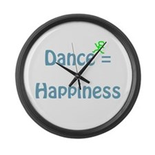 Dance Happiness Large Wall Clock