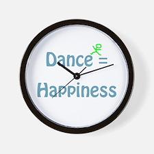 Dance Happiness Wall Clock