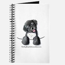 Pocket Black Schnoodle Journal