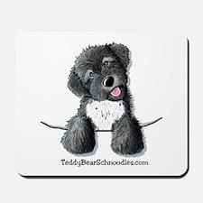 Pocket Black Schnoodle Mousepad