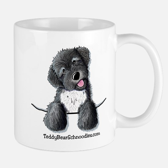 Pocket Black Schnoodle Mug