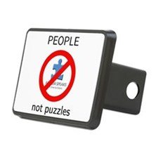 Autism: People, Not Puzzles Hitch Cover