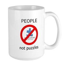 Autism: People, Not Puzzles Mug