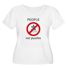Autism: People, Not Puzzles T-Shirt