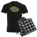Learning and Beyond Preschool Men's Dark Pajamas
