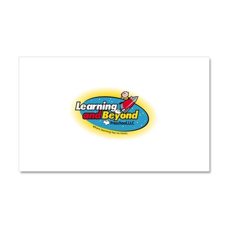 Learning and Beyond Preschool Car Magnet 20 x 12