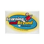 Learning and Beyond Preschool Rectangle Magnet (10