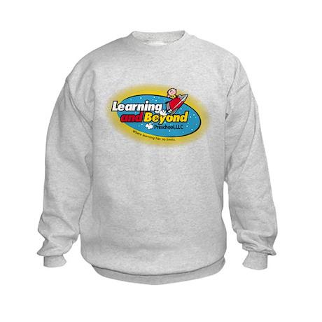 Learning and Beyond Preschool Kids Sweatshirt