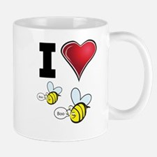 I Love Boo Bees Mug