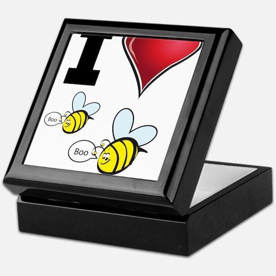 I Love Boo Bees Keepsake Box