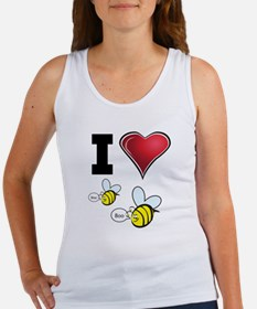 I Love Boo Bees Women's Tank Top
