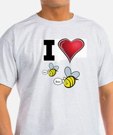 I Love Boo Bees T-Shirt