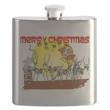 Zombie Santa Delivery Flask