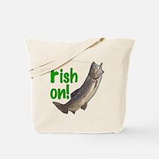 Fish on! 3 Tote Bag
