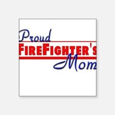 """proud mom.png Square Sticker 3"""" x 3"""""""