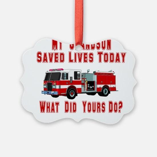 savedlivesfiregrandson.png Ornament