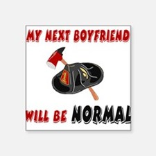 """nextboyfriendnormalFF.png Square Sticker 3"""" x 3"""""""