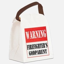 dangersignFFgodparent.png Canvas Lunch Bag