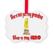 not just my grandma hearts52.png Ornament