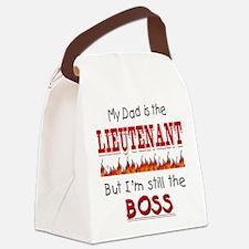 dadislieutenantfire.png Canvas Lunch Bag