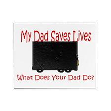 dad saves lives.jpg Picture Frame